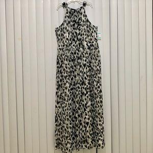 Anne Klein Maxi Dress Sleeveless NWT Size 16